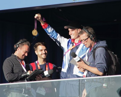 Olympics 2012 Gold Medal Winner - Clay pigeon Shooting